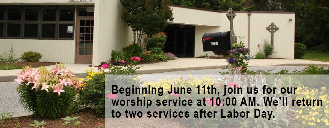 Summer Service Updates