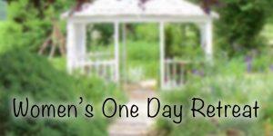 Women's One Day Retreat October 2017