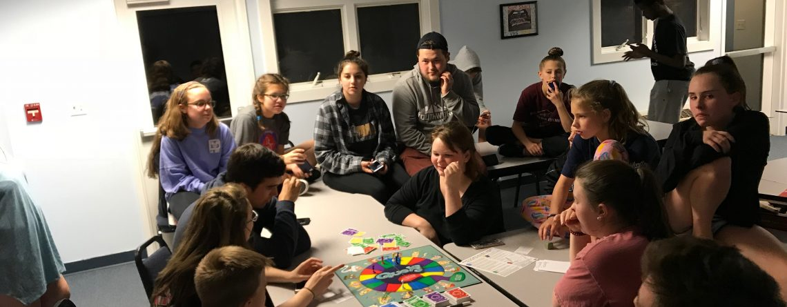 Youth Group Year Ended with Church Lock-In